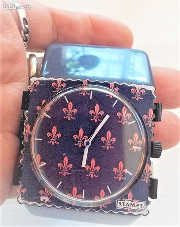 """Montre STAMPS """"Lys"""""""