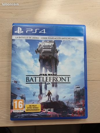 Jeu PS4 star wars battlefront