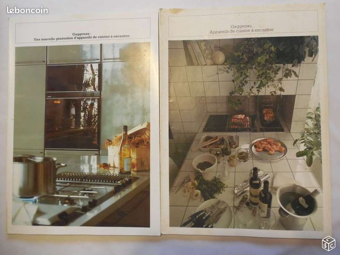 catalogue cuisine gaggenau 1978 livres h rault. Black Bedroom Furniture Sets. Home Design Ideas