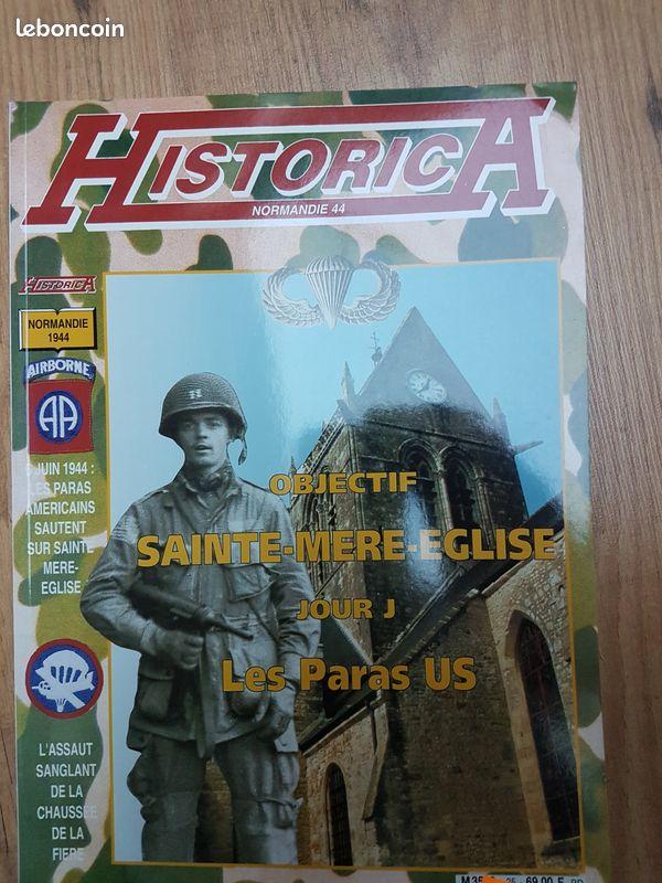 Historica - objectif sainte-mère-eglise