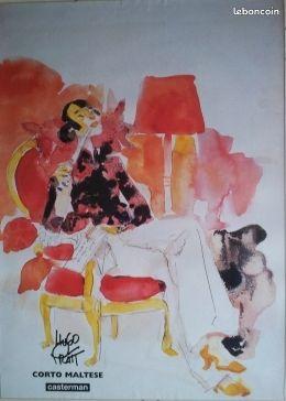 """Affiche """"les femmes de Corto"""""""