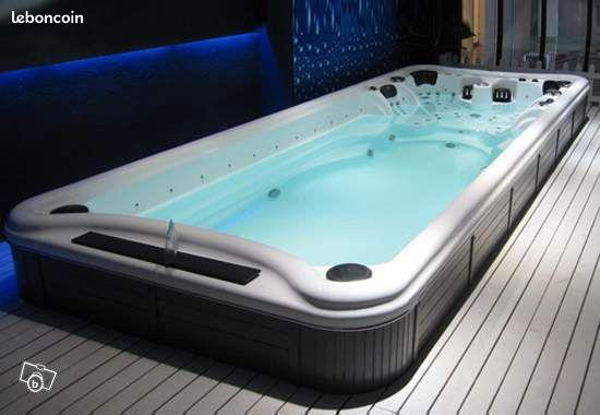 Spa de nage mono zone 4m jardinage doubs - Spa de nage discount ...