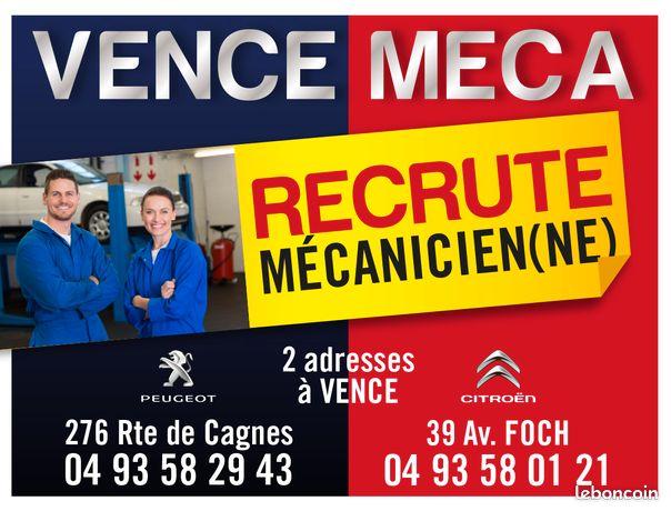 Technicien / mecanicien automobile (H/F)