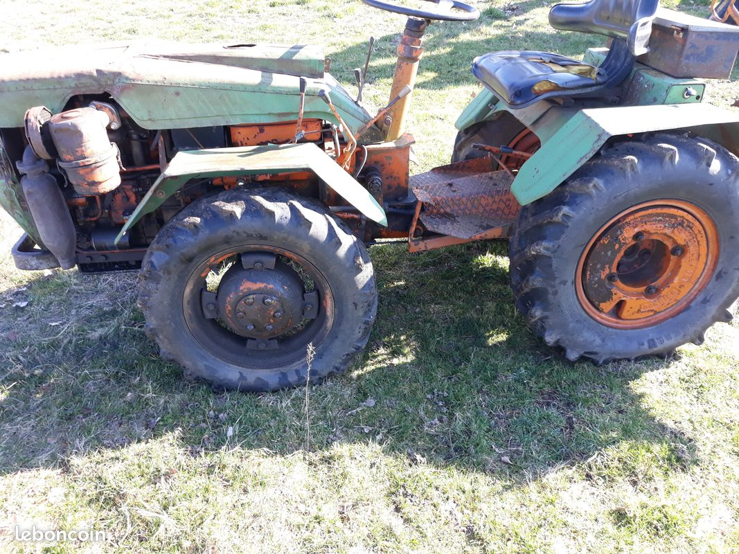 Moto tracteur rigide pasquali 970