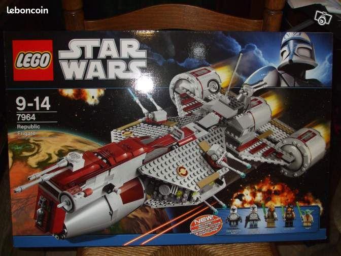 lego star wars n 7964 republic frigate neuf jeux jouets nord. Black Bedroom Furniture Sets. Home Design Ideas