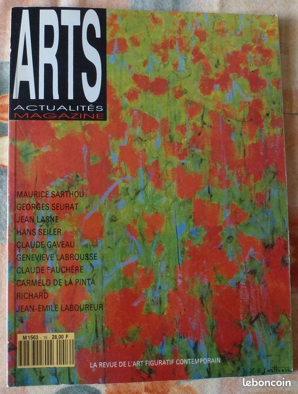 Magazine : arts actualités magazine n° 16/mai 1991