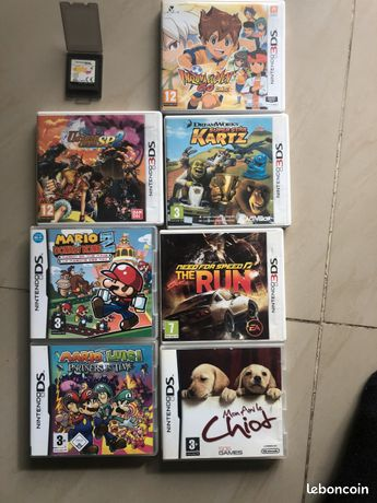 Jeux Nintendo 3ds et ds