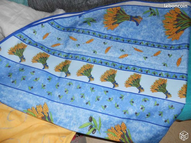 nappe pour table ovale 6 pers arts de la table moselle. Black Bedroom Furniture Sets. Home Design Ideas