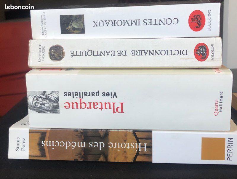 Livres d'histoire