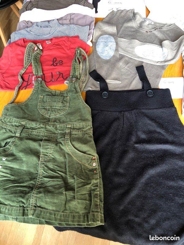 Vêtements fille automne hiver 6 ans