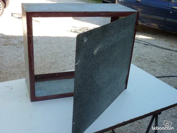 coffre galvanis bricolage var. Black Bedroom Furniture Sets. Home Design Ideas