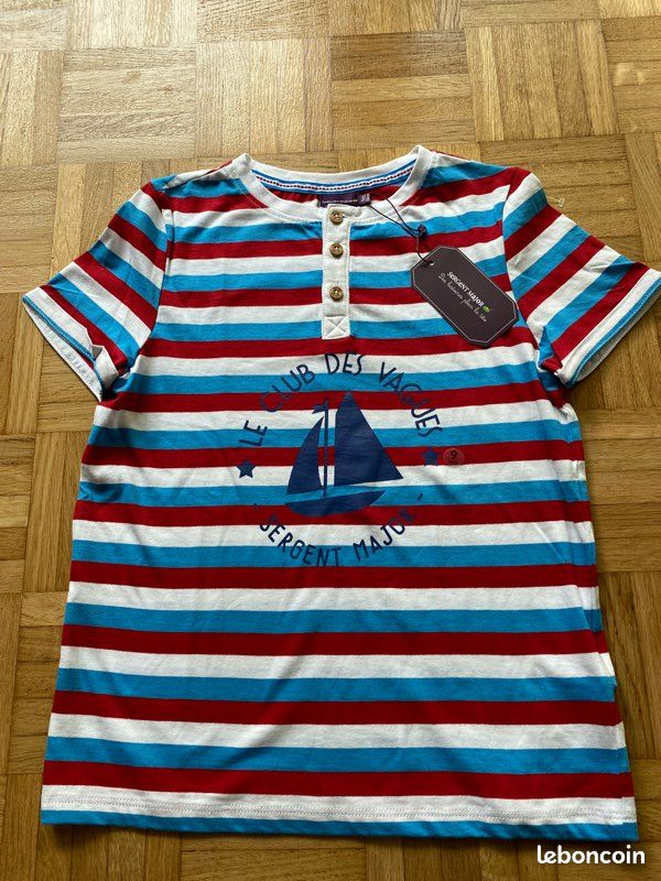 Tee-shirt taille 9 ans sergent major
