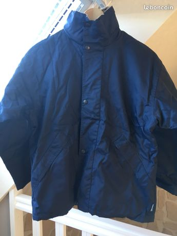 Blouson à capuche bleu marine taille 12 ans DECATHLON