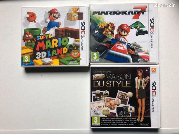 Jeux Nintendo DS et 3DS
