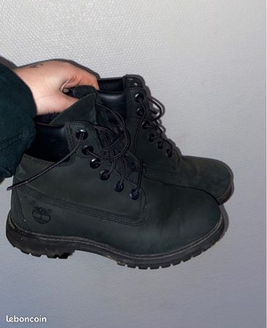Timberland noires femme taille 38