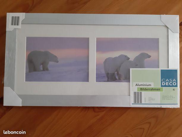Cadre photo aluminium