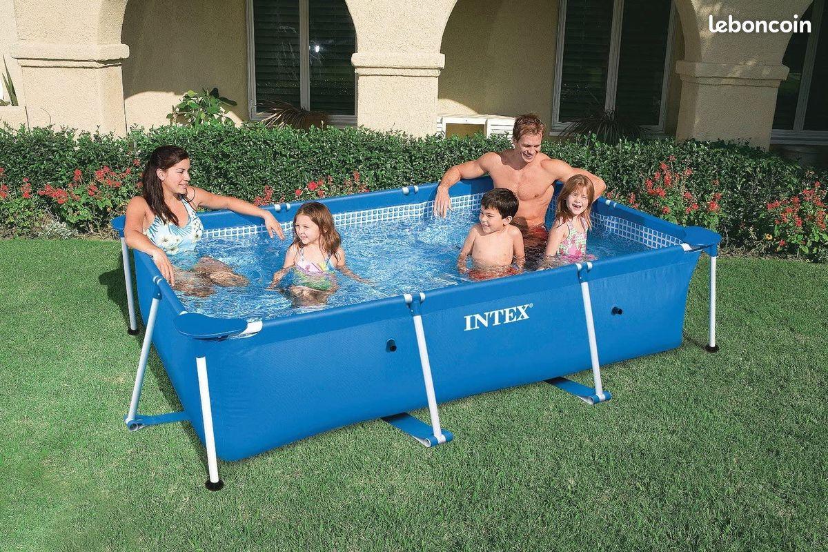 Intex piscine rectangulaire tubulaire - 220 x 150 x 60 cm