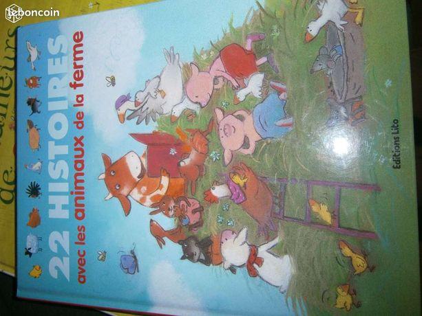 22 histoires. les animaux de la ferme (chris07) - Félines - 22 histoires. les animaux de la ferme. Très bon état.  - Félines