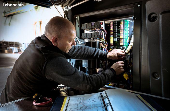 Mécanicien électricien poids lourds SCANIA (H/F)