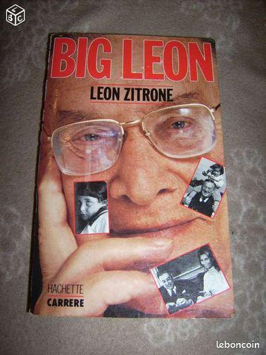 BIG LEON leon zitrone - Fougerolles - Big léon, autobiographie de léon zitrone, bon état, frais d'envoi en sus.Pour mes autres annonce taper:nadinou2361  - Fougerolles