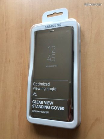 Housse coque clear cover samsung galaxy note 8
