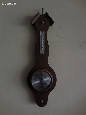 Ancien baromètre thermomètre mercure