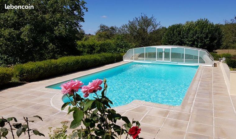 Grand gîte de charme avec piscine en Sud Touraine