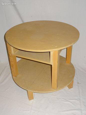 Table ronde à juponner ou à peindre