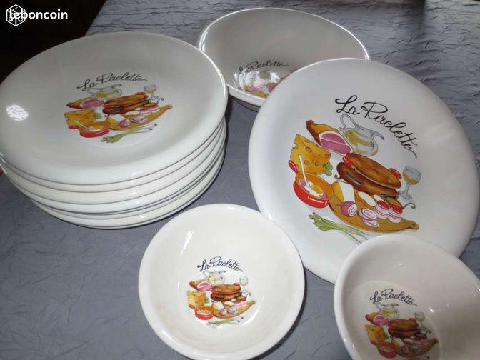 Service Raclette Arts De La Table Haut Rhin
