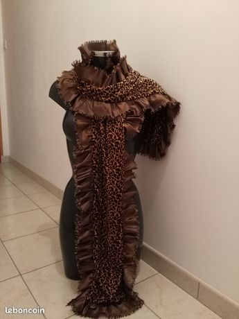 Écharpe léopard