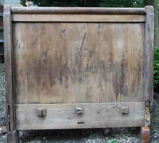 montant t te de lit ancien bois d coration hautes pyr n es. Black Bedroom Furniture Sets. Home Design Ideas