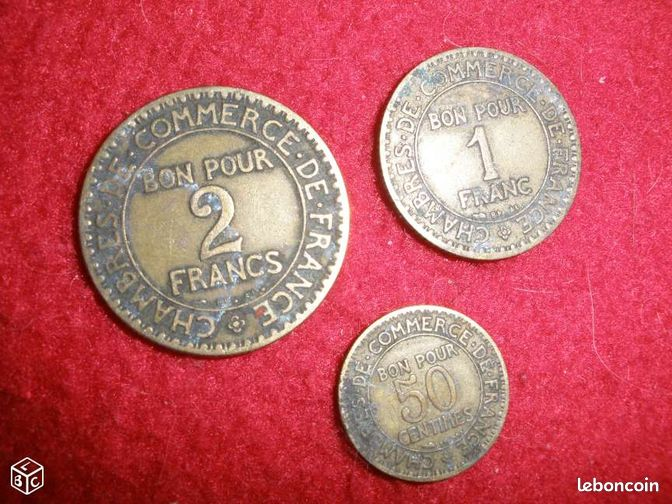 2 francs bon pour annonces d 39 achats et de ventes les for Chambre de commerce de france bon pour 2 francs 1923