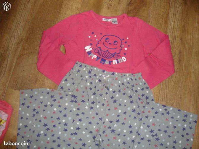 pyjama fille 10 ans floc49 v tements maine et loire. Black Bedroom Furniture Sets. Home Design Ideas