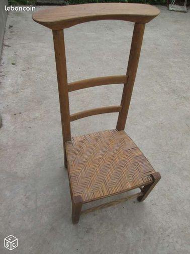 chaise prie dieu collection paris. Black Bedroom Furniture Sets. Home Design Ideas