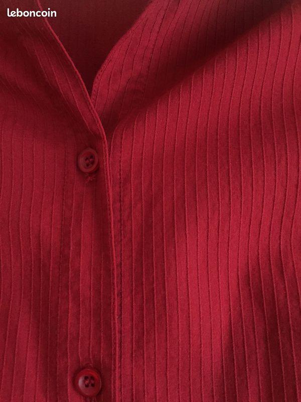Chemise longue tunique taille m - 4