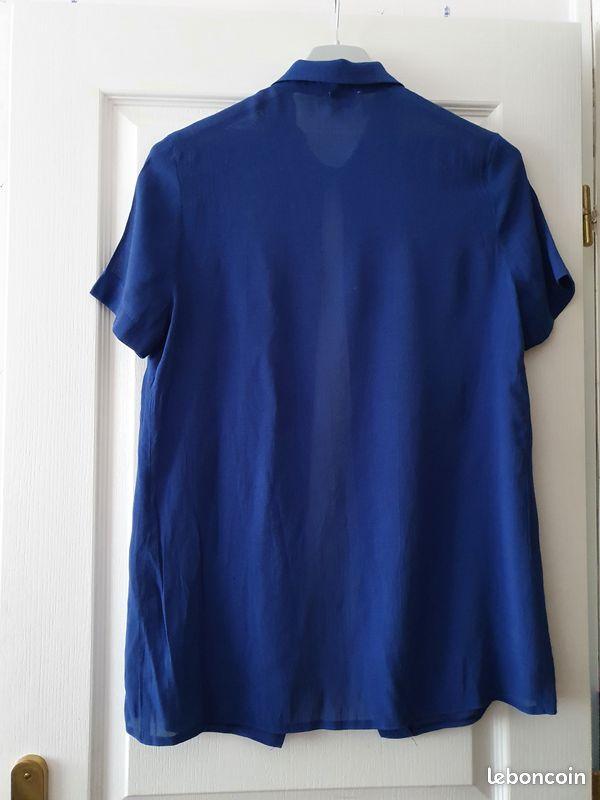 Surchemise bleue c&a taille 42