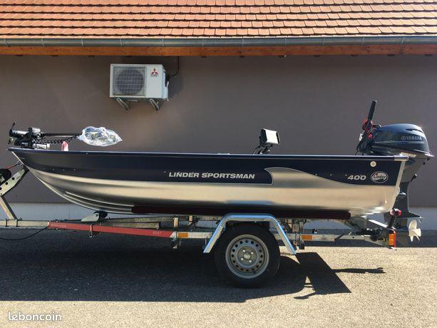 Barque de pêche alu LINDER 400 SPORTSMAN