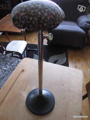 ancien porte chapeau pied fonte hauteur reglable collection meurthe et moselle. Black Bedroom Furniture Sets. Home Design Ideas