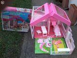 maison barbie vintage d 39 occasion 41 vendre pas cher. Black Bedroom Furniture Sets. Home Design Ideas