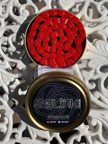 Gusset chaine demi maillon montage 1//8 rouge single speed