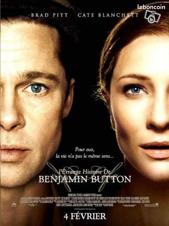 Affiche de cinema : Benjamin Button