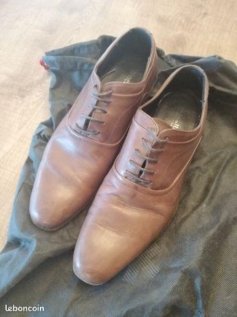Chaussures en cuir Minelli