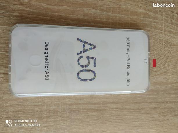 Coque avant et arrière samsung Galaxy A50 ou A30s
