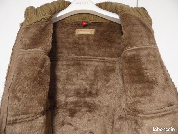 Blouson veste marron M/L 38/40