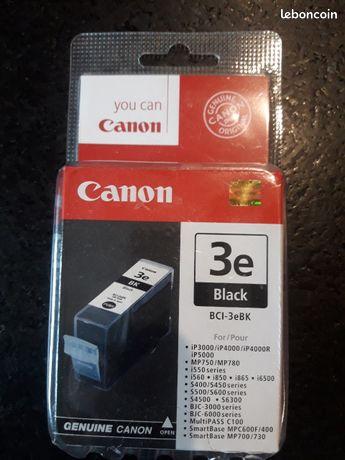 Cartouche encre noire imprimante canon