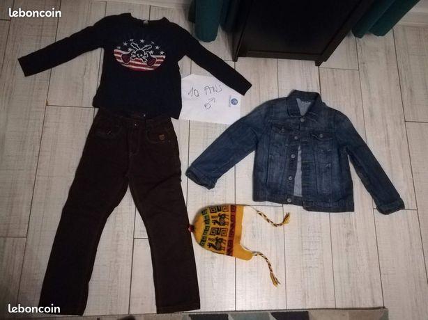 Lot de vêtements garçon taille 10 ans