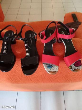 Vends 2 paires de chaussures italiennes