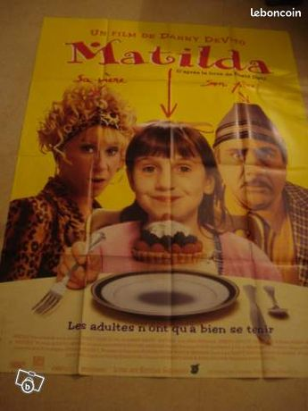 Affiche de cinema : Matilda