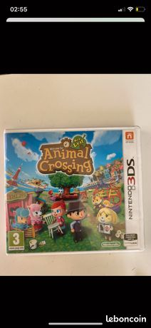 Jeu Animal Crossing 3Ds