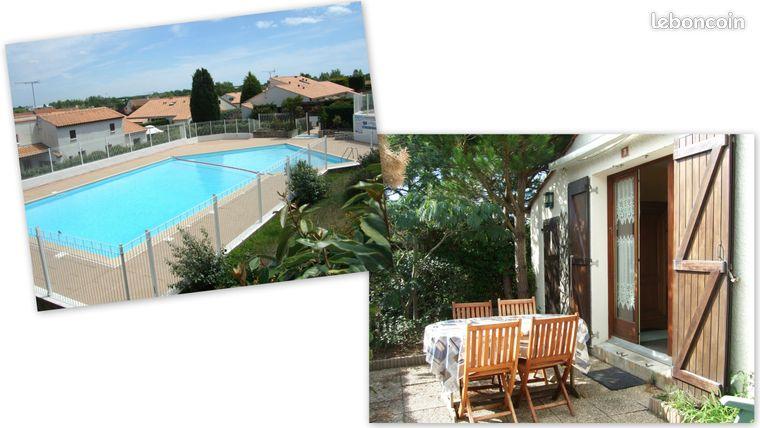 Maison dans résidence avec piscine, idéale 4 personnes